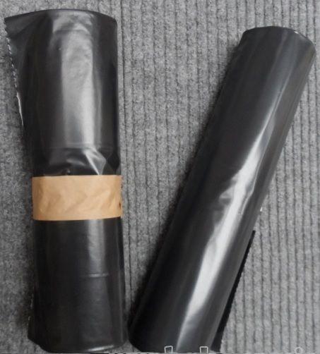 Černé pytle - 55x100cm o síle 80my odpadové na odpadky černý pytel