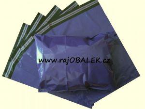 Fialové plastové obálky 16x23cm(6x9)LDPE barevné plastové obálky
