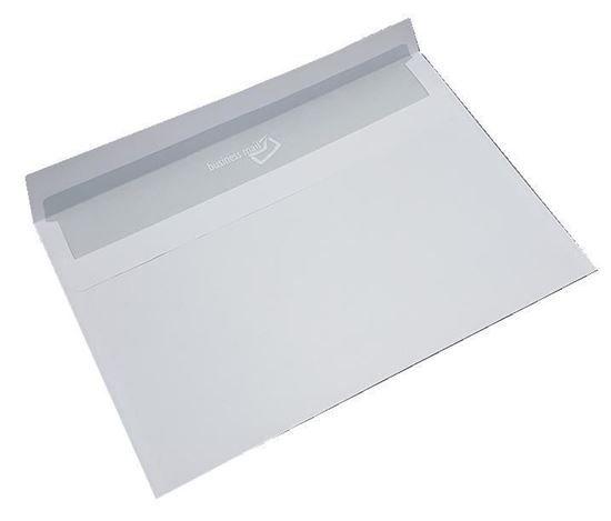 Poštovní obálka C6 bílá s krycí páskou - 10kusů v balení